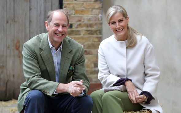 Prince Edward and Sophie have 'higher profile'