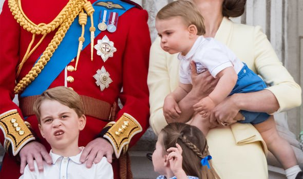 prince george charlotte louis style