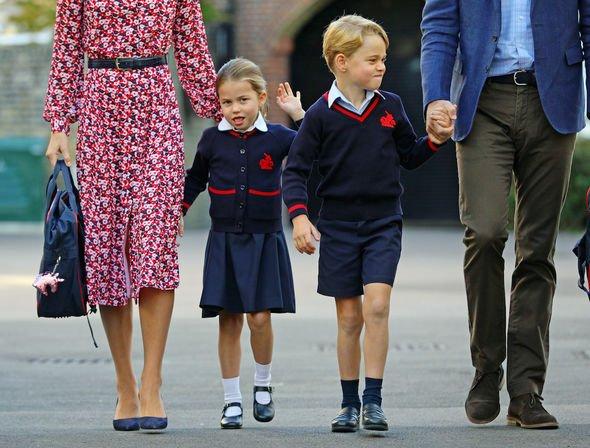 Prince George school: Prince George and Princess Charlotte