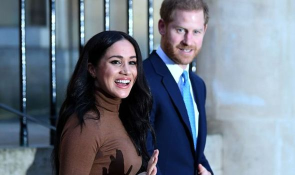 Prince Harry and Meghan have distanced themselves
