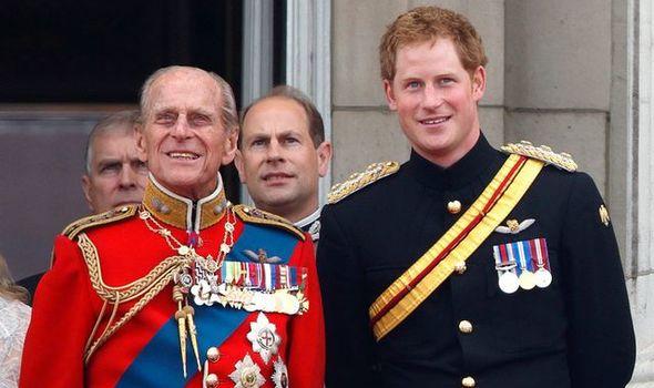 Prince Harry spoke of Prince Philip's reaction
