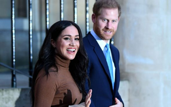 Prince Harry and Meghan were snubbed from party