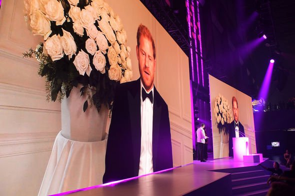 prince harry speech vaccine equity duke of sussex pictures appearance london gq awards