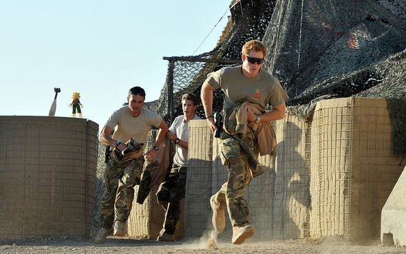 Prince Harry undertook two tours of Afghanistan