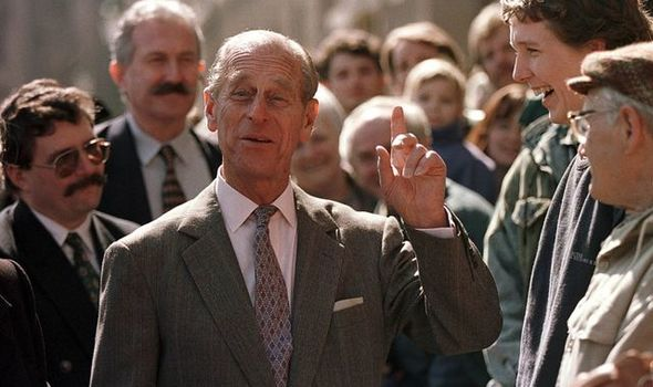 Prince Philip was known for his sense of humour