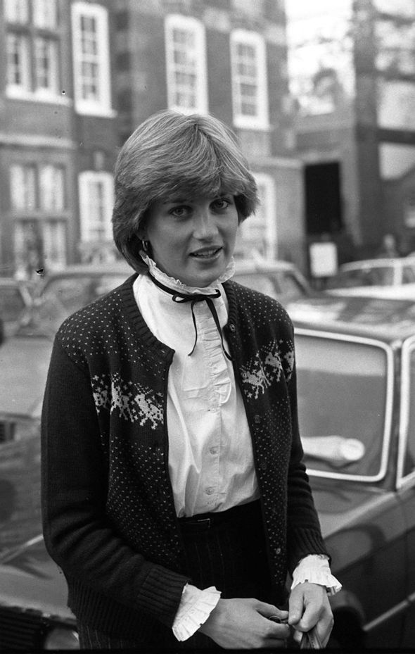 File photo dated 12/11/80 of Diana, Princess of Wales, leaving her flat in Earls Court, London