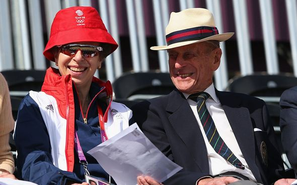 Princess Anne was said to be Philip's favourite
