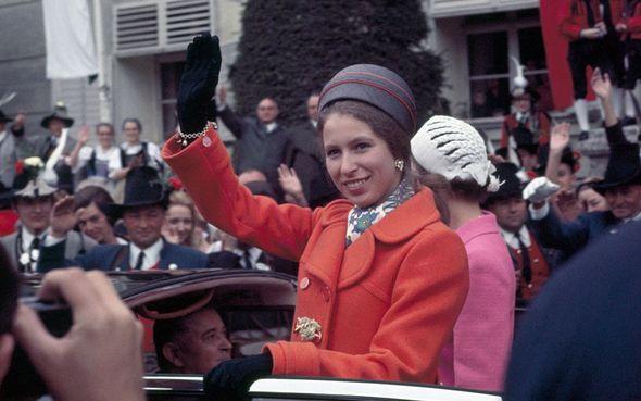 Princess Anne was dubbed Princess Sourpuss