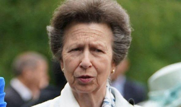 Princess Anne on an official tour of Austria