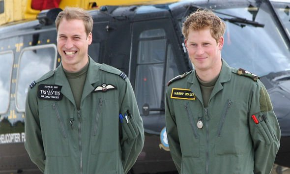 Princess Charlotte: Harry and William