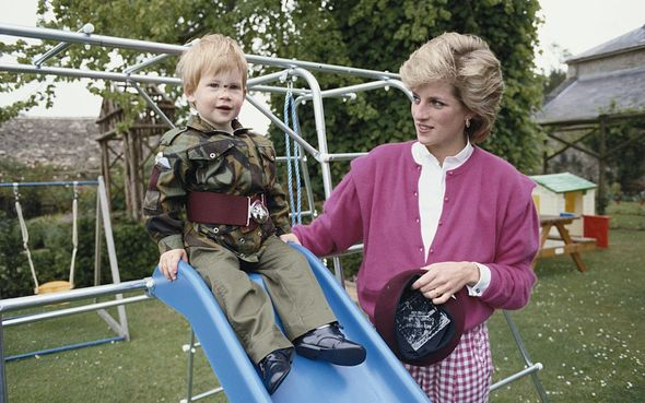 Princess Diana's death had a deep impact on Harry