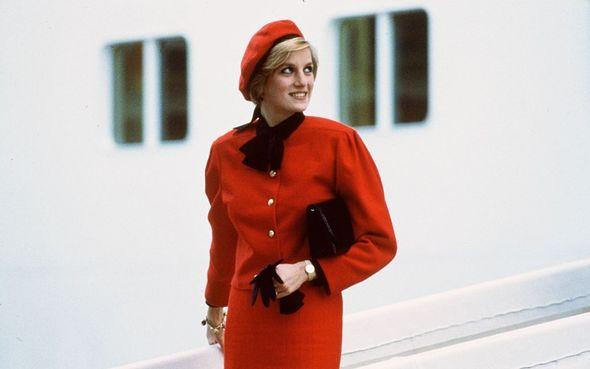 Princess Diana was regarded as a fashion icon
