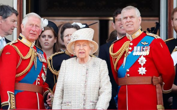 Queen has not 'felt the need to act'