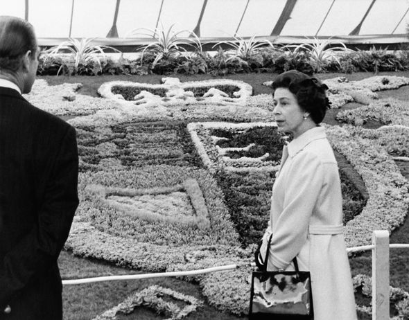 The Queen at the Chelsea Flower Show