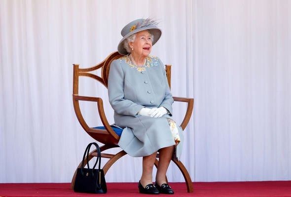 Queen at Trooping the Colour