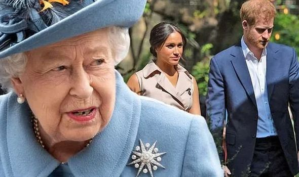 queen news prince harry meghan markle royal title