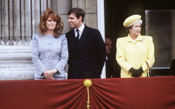 Sarah Ferguson and the Queen were not close