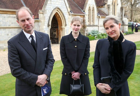 Sophie Wessex, Prince Edward and Lady Louise
