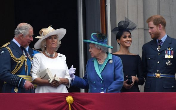 The Sussexes left the Royal Family in 2020