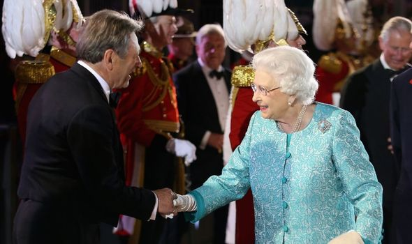 Queen left Alan Titchmarsh red-faced with cheeky remark