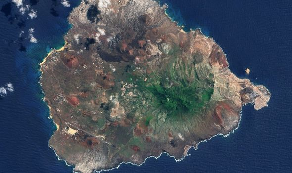 The Ascension Island