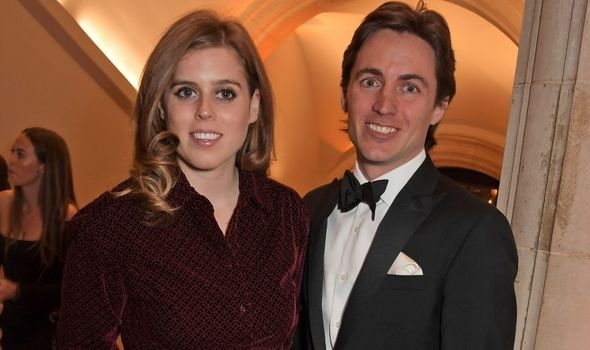 Beatrice: And her husband Edoardo Mapelli Mozzi
