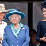 Camilla, Meghan Queen Trooping the Colour