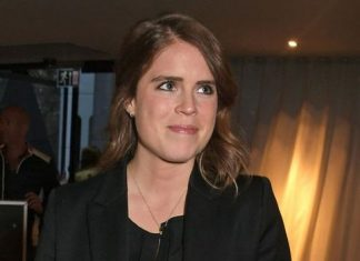 Eugenie sent a special message on her wedding