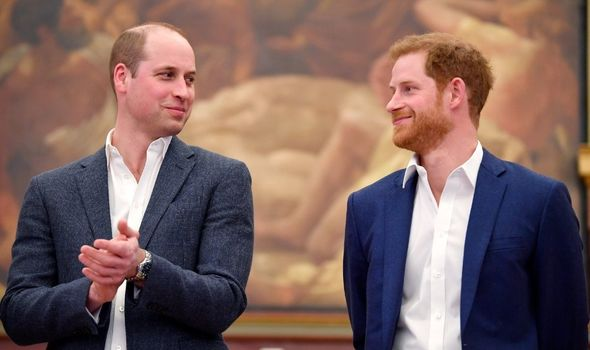 Harry: Played down reports of rift with William