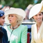 Kate, Camilla and Meghan in carriage