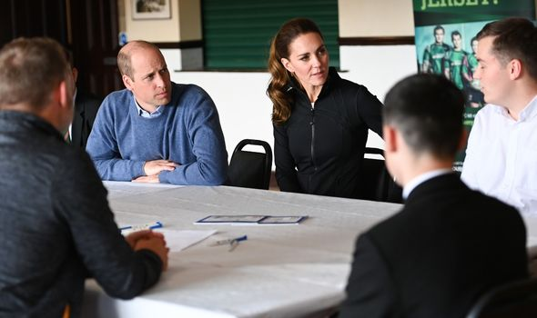 Kate and William in Northern Ireland appearance