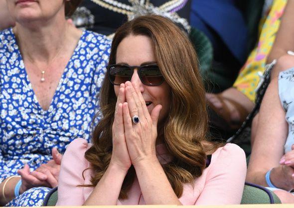Kate at Wimbledon