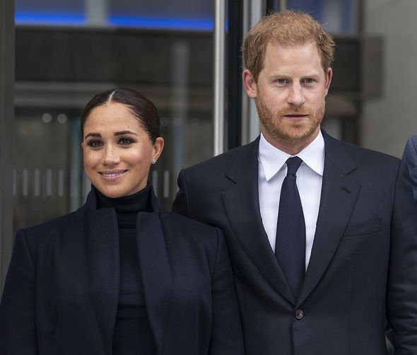 2021/09/23: The Duke and Duchess of Sussex, Prince Harry and Meghan visit One World Observatory on 102nd floor of Freedom Tower of World Trade Center