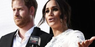 Meghan and Harry at Global Citizen Live