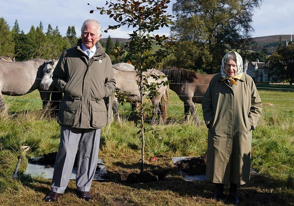 Prince Charles tribute: Charles and Queen