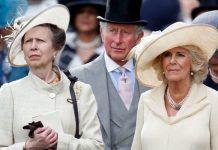 Princess Anne, Prince Charles and Camilla