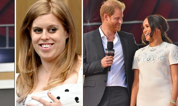 Princess Beatrice takes leaf of Harry and Meghan's book
