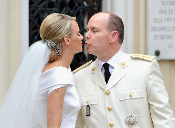 Princess Charlene and Prince Albert tied the knot in 2011