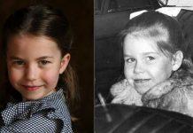 Princess Charlotte and young Lady Sarah Chatto
