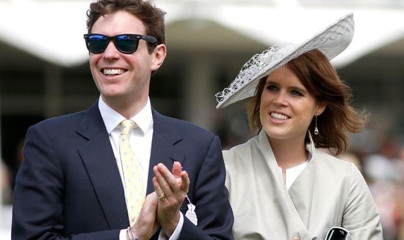 Princess Eugenie and Jack