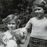 Princess Margaret and the Queen as youngsters