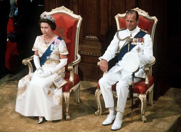 Queen Philip 1977