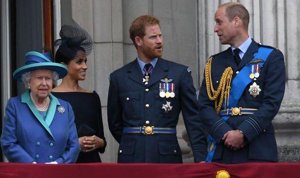 Royals balcony