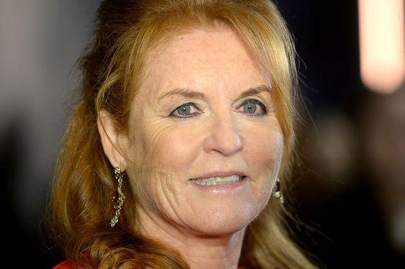 Sarah Ferguson pictured in 2019