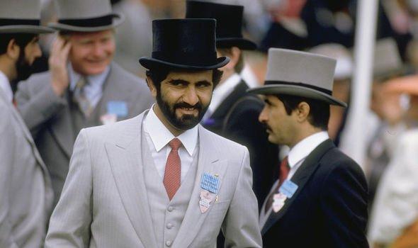 Sheikh Mohammed Ascot 1987