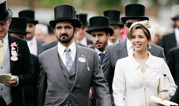 Sheikh Mohammed Princess Haya Ascot