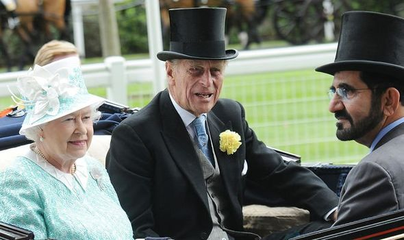 Sheikh Mohammed Queen Prince Philip