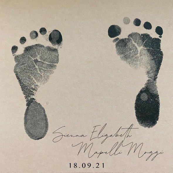 Sienna's footsteps