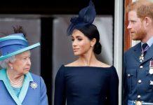 The Queen Meghan harry