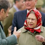 The Queen and Alan Titchmarsh